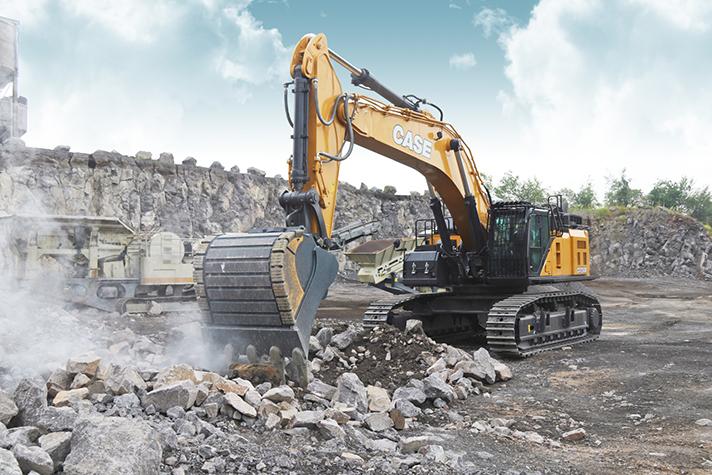 Nueva excavadora CX750D de CASE