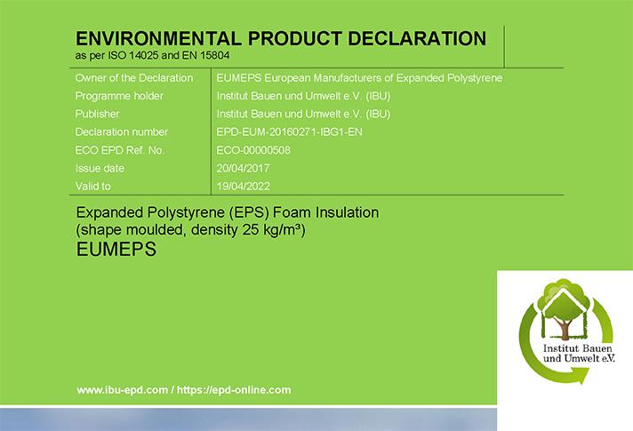 El sector del poliestireno expandido avanza en la evaluación de los impactos en el medio ambiente de sus productos