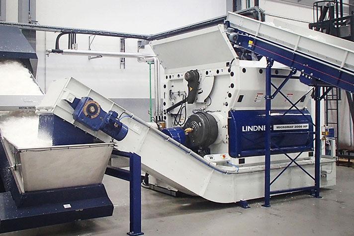 Micromat HP: alto rendimiento en la trituración de residuos plásticos y otros residuos