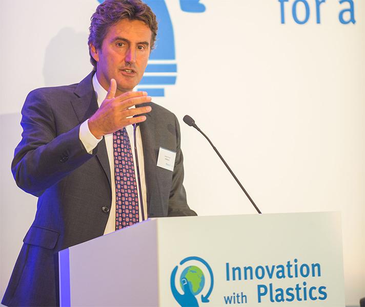 El presidente de PlasticsEurope, Daniele Ferrari