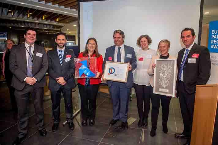 Aspapel ha recibido el European Paper Recycling Award