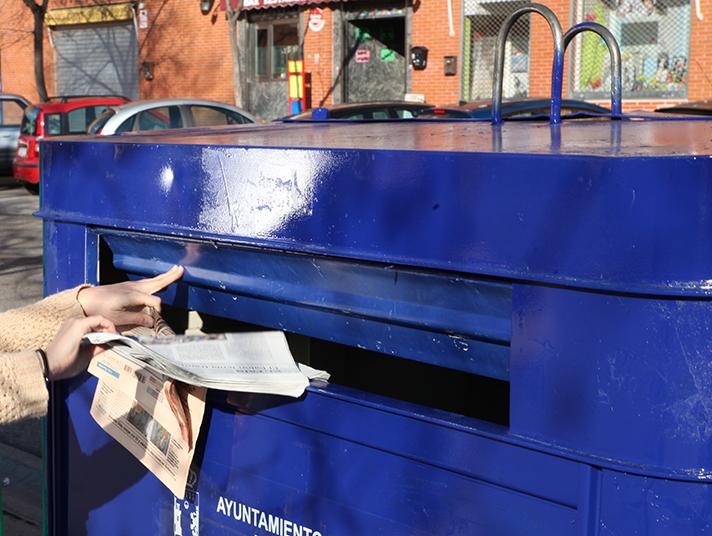 En 2017, se recogerán para su reciclaje en España 4.780.000 toneladas de papel y cartón