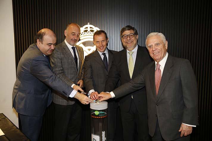 Las entidades han renovado su acuerdo de colaboración en la escuela sociodeportiva y de educación medioambiental de Segovia y lo han ampliado a la de Sevilla