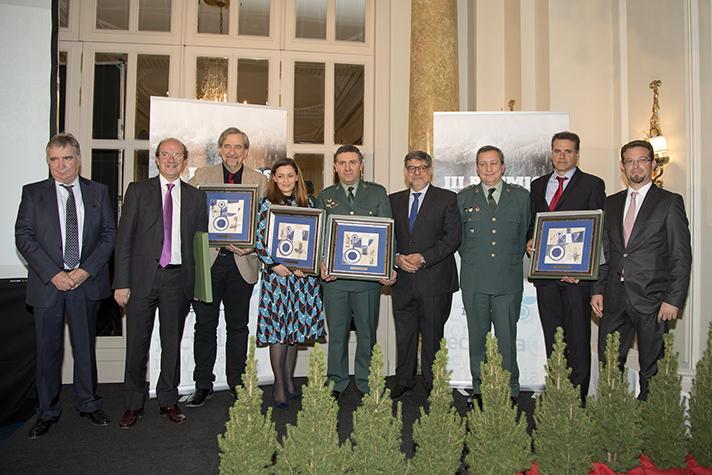 Los III Premios Recyclia de Medio Ambiente también han galardonado la labor del SEPRONA, el Cabildo de Lanzarote, EFEverde y la periodista Eva González
