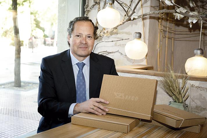 Leopoldo Santorromán, Presidente de AFCO