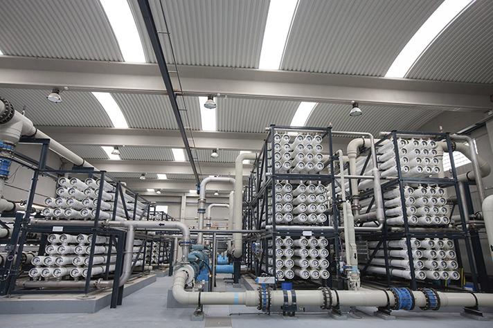 La reutilización de aguas residuales: la mejor solución para la industria química