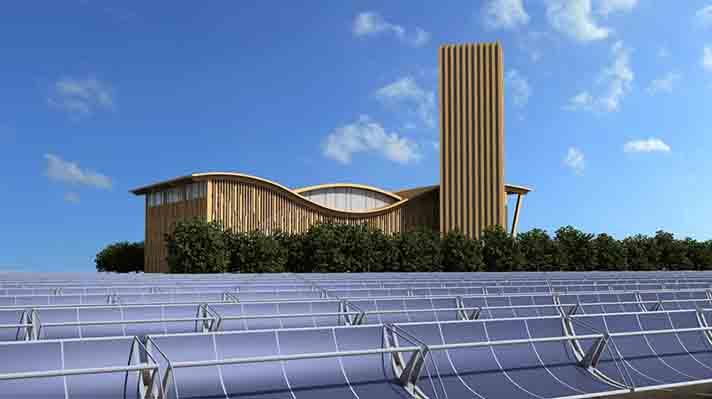 El proyecto pretende transformar el modelo energético de la ciudad mediante el uso de paneles solares y calor urbano