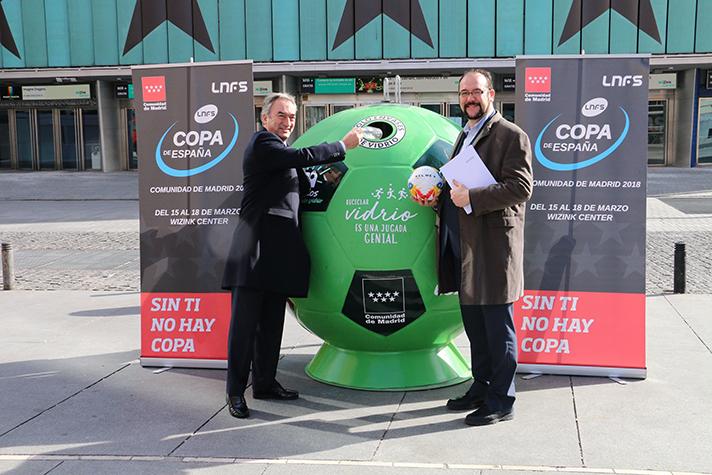 """Ecovidrio ha desarrollado para la ocasión una campaña bajo el claim """"Reciclar vidrio es una jugada genial"""""""