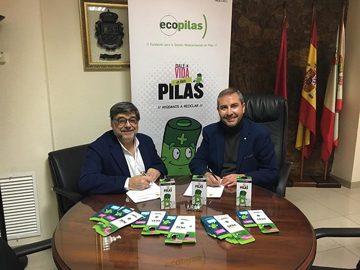 El Ayuntamiento ha firmado un convenio de colaboración con la fundación medioambiental Ecopilas