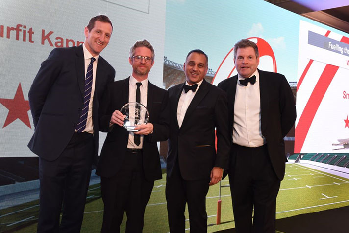 Entrega de premios Nestlé UK and Ireland Supplier Awards