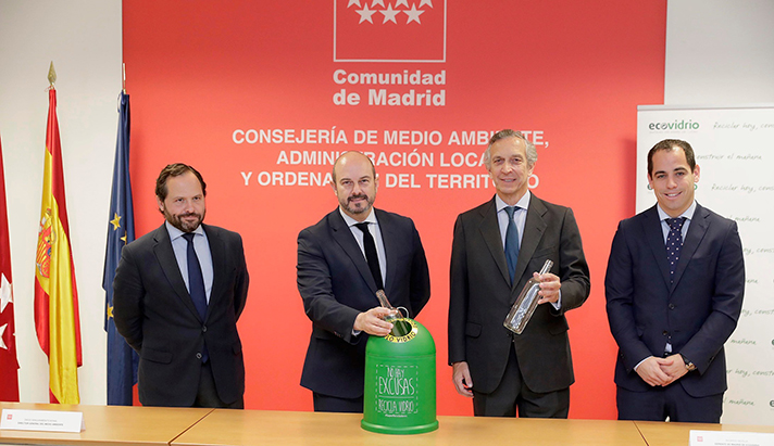 Los madrileños reciclaron 88.000 toneladas de envases de vidrio
