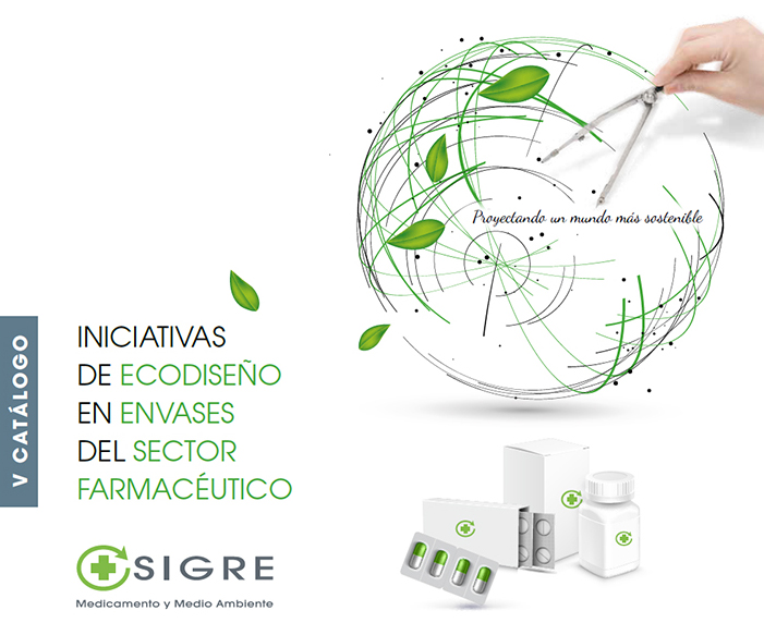 V Catálogo de iniciativas de Ecodiseño del sector farmaceútico de SIGRE