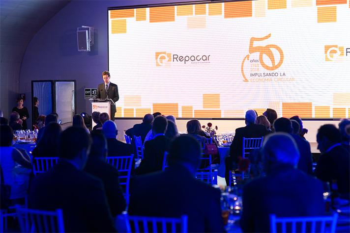 El auditorio de la Casa del Lector en Madrid acogió el evento de Repacar