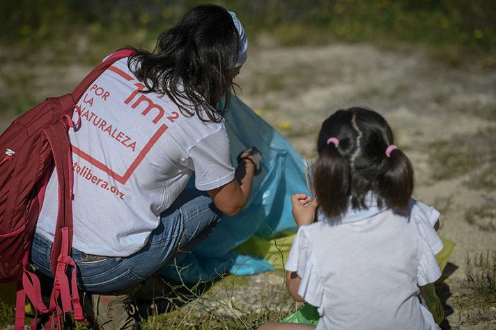 '1m2 por la naturaleza' se engloba dentro del proyecto Libera para sensibilizar sobre la problemática de la basuraleza en los entornos naturales