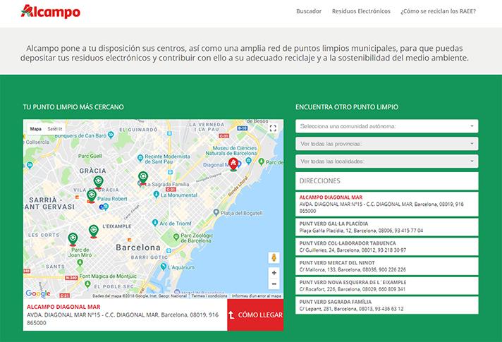 El proyecto ha sido desarrollado en colaboración con Ecotic y Ambilamp