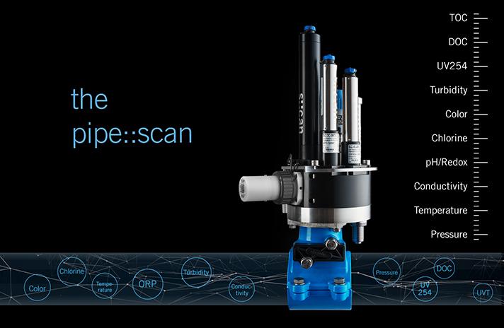 Pipe::scan para la monitorización de la calidad del agua potable en la red de distribución