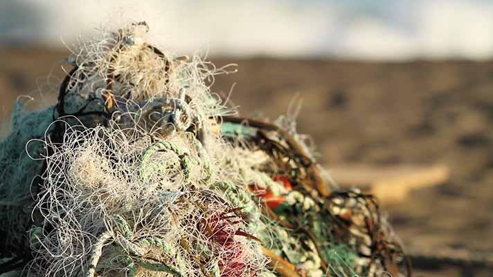 'Impacto Cero' ya ha logrado recoger 16.000 kilos de redes de pesca