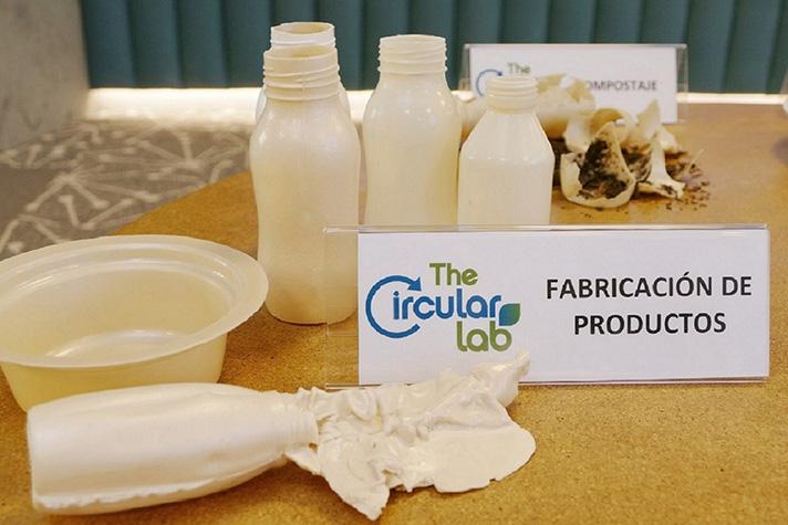Plástico a partir de residuos vegetales que se puede reciclar, compostar y biodegradar en el entorno marino