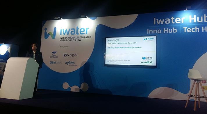 Carburos Metálicos presentó el nuevo sistema Halia QM en la feria iWater
