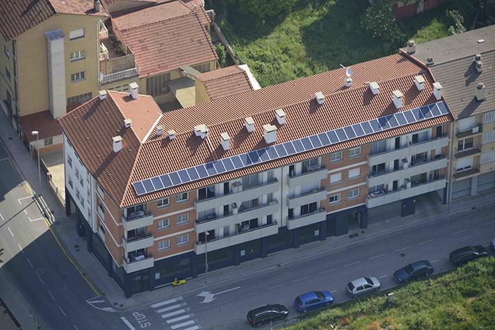 El EspaiZero es el primer centro de trabajo 100% autosuficiente energéticamente en toda España