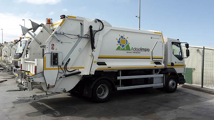 Adeje Limpio adquiere flota de vehículos de recogida de residuos a Geesinknorba Spain