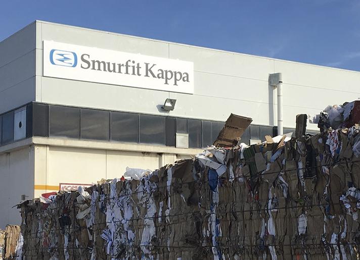 Smurfit Kappa expande su red global de plantas de reciclaje de papel
