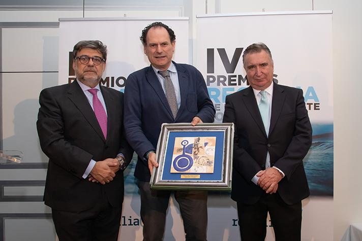 El Vicenconsejero de Medio Ambiente de la Junta de Andalucía en los IV Premios Recyclia