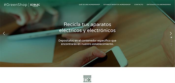 #GreenShop quiere reconocer el compromiso real de los comerciantes con el reciclaje de residuos de aparatos eléctricos y electrónicos (RAEE)