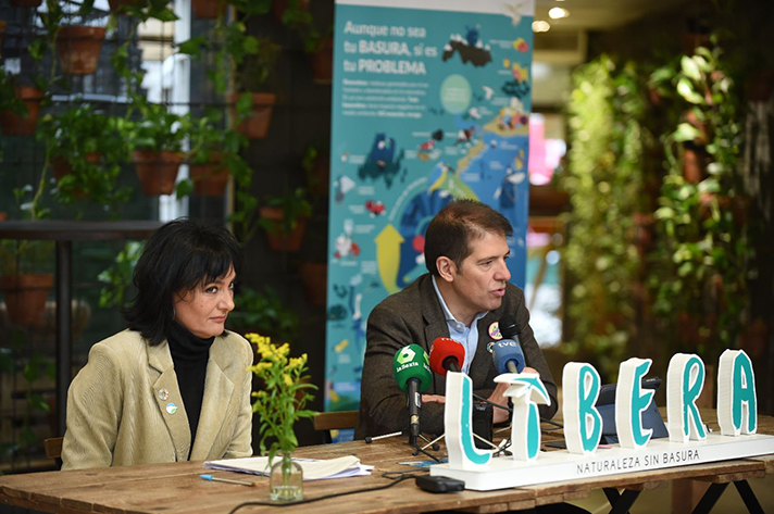 """SEO/BirdLife y Ecoembes, en el marco del Proyecto LIBERA,  presentan la campaña """"No abandones más plásticos"""""""