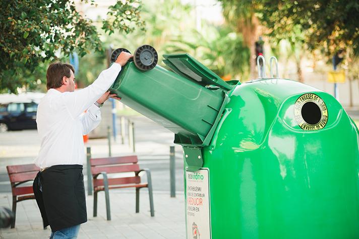 El reciclaje de envases de vidrio crece un 9% en 2018, el mayor incremento de la última década