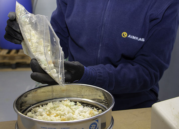 El reciclado químico permitirá retirar de vertedero el poliuretano y utilizarlo como materia prima