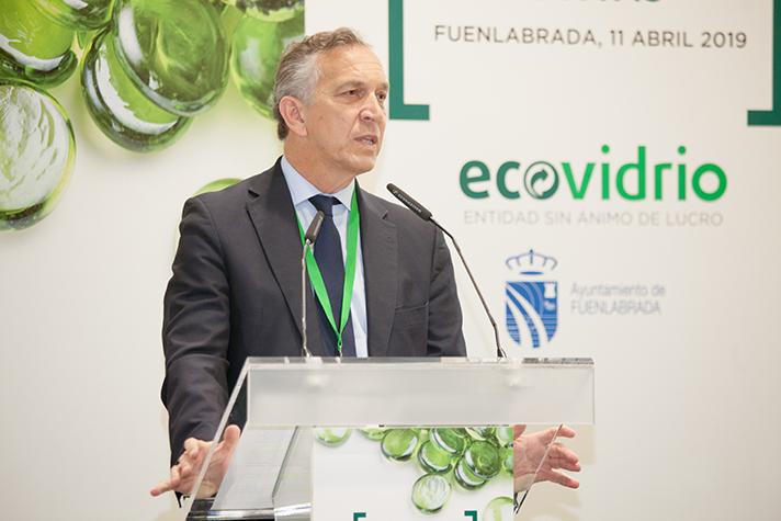 Jose Manuel Núñez-Lagos, director general de Ecovidrio
