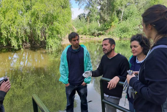 El proyecto LIBERA da otro paso más y pone en marcha un estudio piloto para la caracterización de microplásticos en ríos