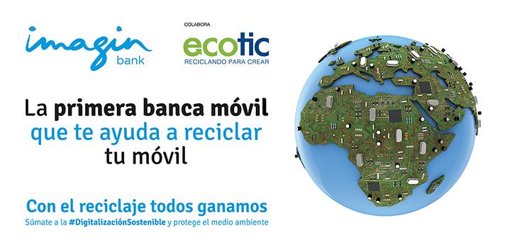 Ecotic impulsa el reciclaje electrónico entre los universitarios con el apoyo de imaginBank