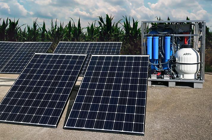 Arpa, la tecnología solar híbrida más eficiente del mundo