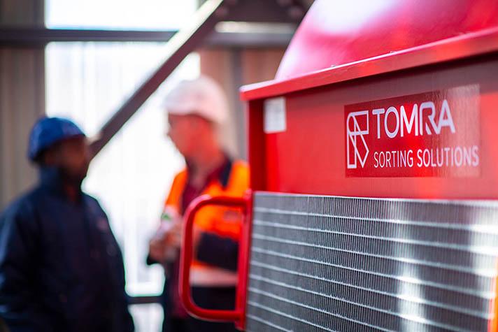Tecnologías de clasificación avanzada de TOMRA para una minería verde rentable