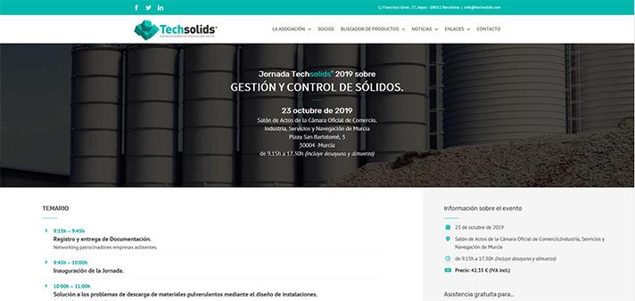 """Techsolids celebra una jornada sobre """"gestión y control de sólidos"""" en Murcia"""