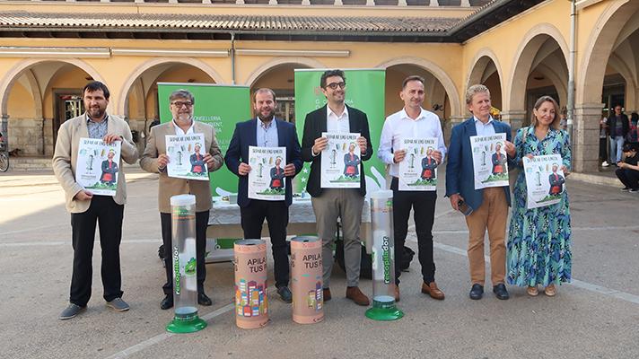 El Govern Illes Balears, ERP y Ecopilas ponen en marcha una campaña de sensibilización para fomentar el reciclaje de pilas