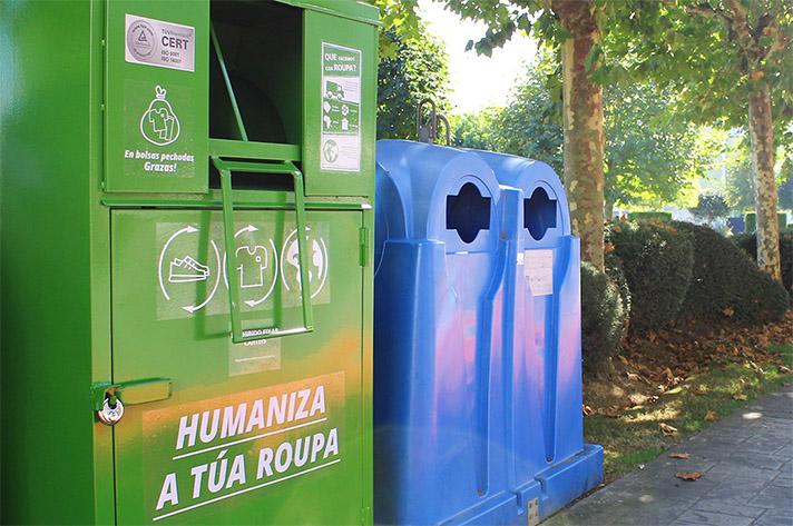 Carballo cuenta con un contenedor de ropa por cada 900 habitantes