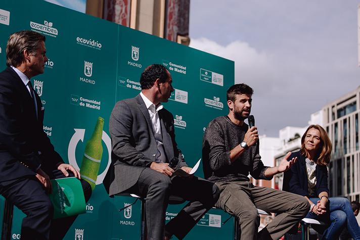 La Copa Davis impulsa el reciclaje entre los aficionados al tenis de mano de Ecoembes y Ecovidrio