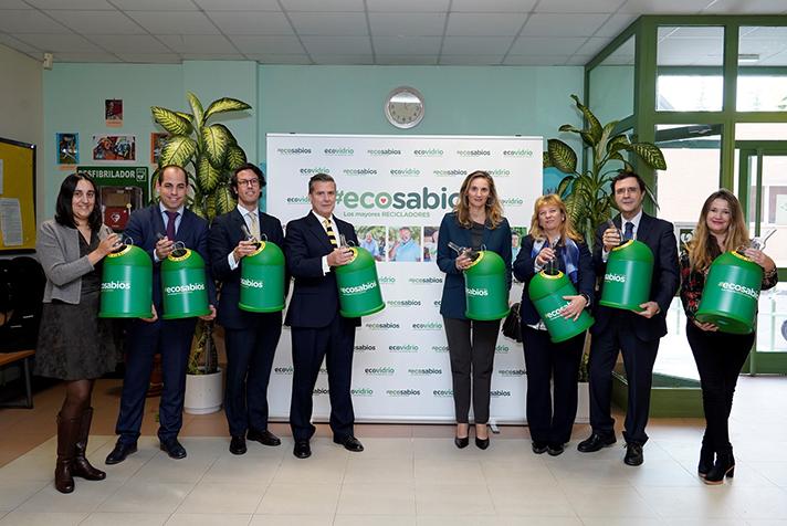 Ecovidrio y la Comunidad de Madrid presentan #Ecosabios, un programa pionero de voluntariado ambiental liderado por mayores de 60 años