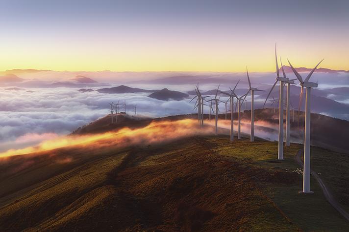 La aportación de la eólica se incrementa en la mayoría de las Comunidades Autónomas