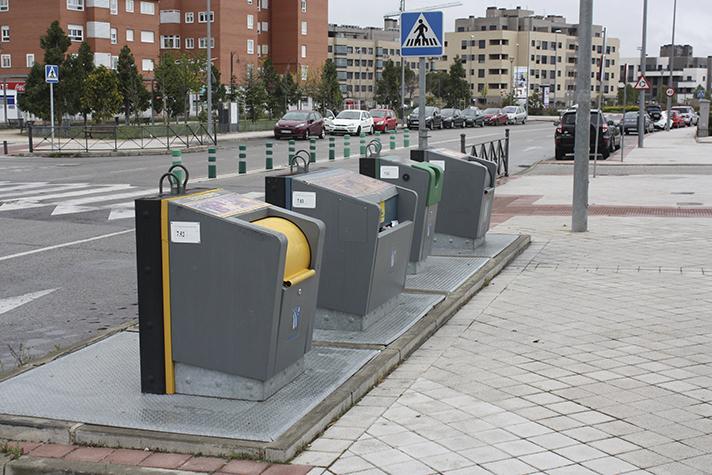 Contenedores soterrados para residuos