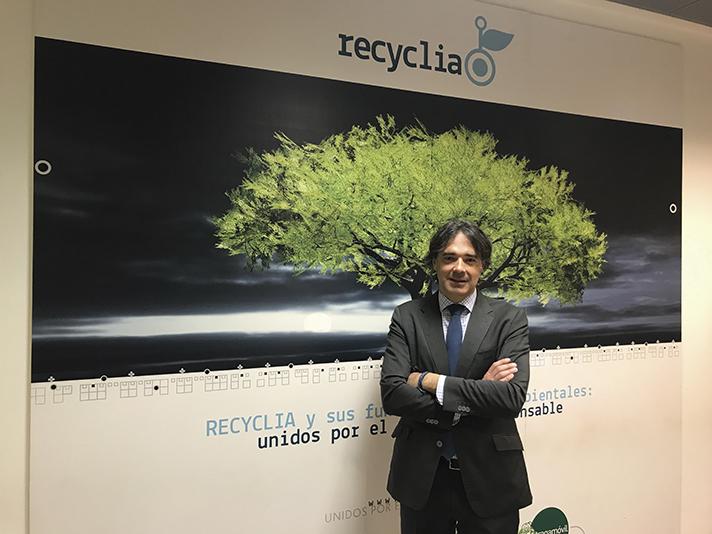 Gabriel García, Director general y de operaciones de Recyclia