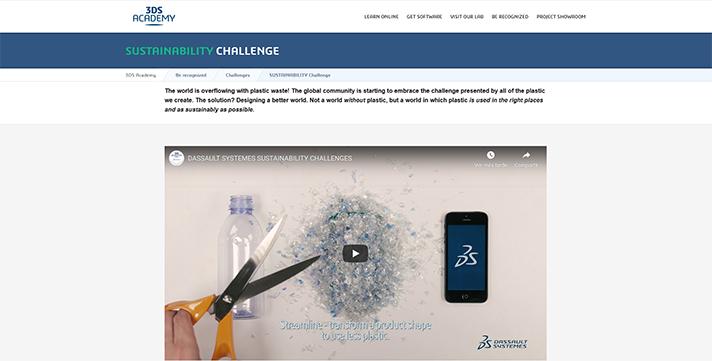 Dassault Systèmes lanza el 'Reto sostenibilidad' para que los estudiantes redefinan el uso de los plásticos