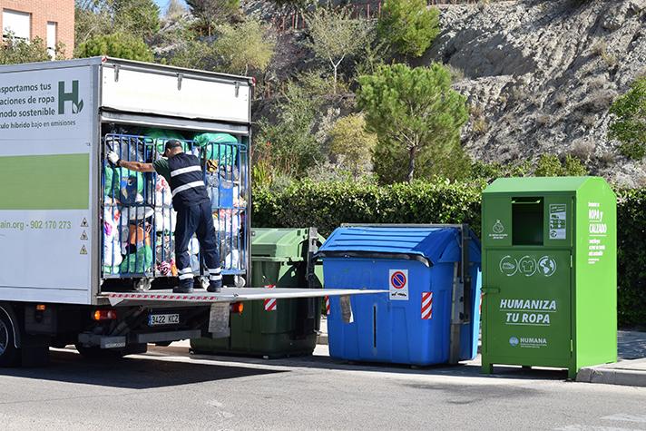 Fundación Humana: 17.573 toneladas de textil recuperado en España para fines sociales