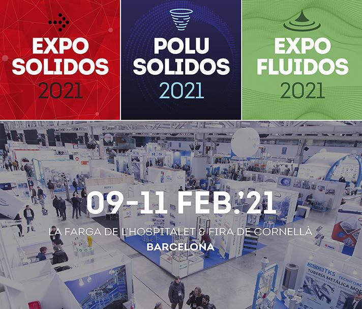 Las empresas confían en el proyecto Exposolidos, Polusolidos y Expofluidos 2021