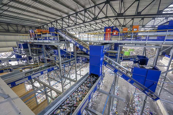 Stadler entrega al Grupo Schroll una planta de clasificación flexible