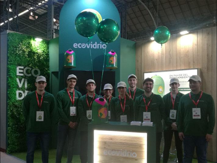 Ecovidrio recoge más de 18.000 botellas de vidrio durante la Barcelona Wine Week