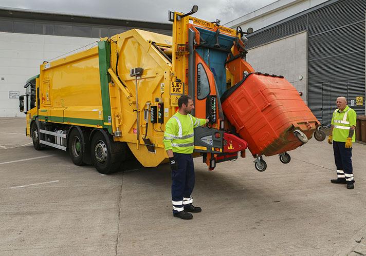Actualizar los vehículos de recogida de residuos con el software FuelSense® 2.0 de Allison reduce un 8,85% el consumo de combustible